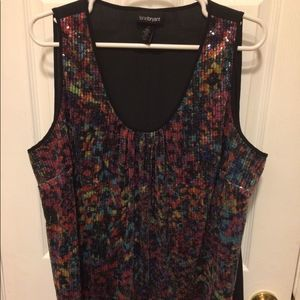 Lane Bryant tank top sleeveless EUC